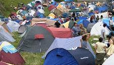Zona de acampada Descenso del Sella