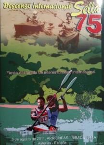 Cartel del Descenso del Sella 2011