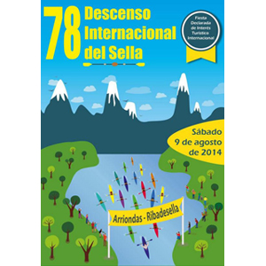 Cartel 78 Descenso del Sella