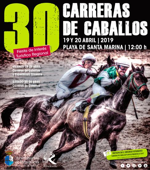 30 Carrera de Caballos Ribadesella Playa de Santa Marina
